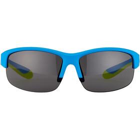 Alpina Flexxy HR Glasses Youth blue matt-lime/black